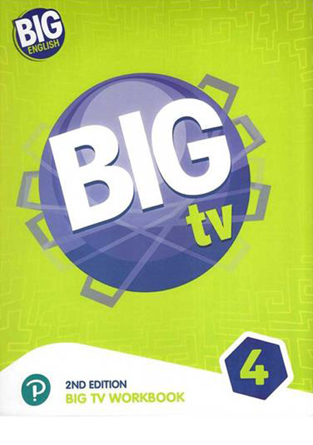 Big TV work Book 4(2nd)+CD